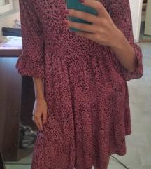 Potpuno nova tigrasta haljina M-L