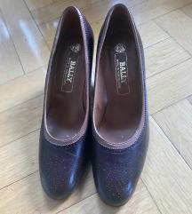 Kožne kvalitetne cipele na štiklu