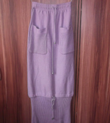 Duga lila suknja