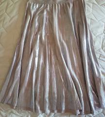 Zara plisirana suknja Snižena M