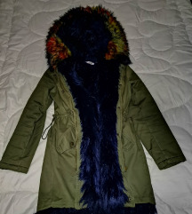 zimska jakna krzno k-zell