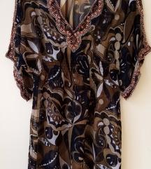 Ženska haljina /tunika sa perlicama vel M
