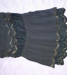 Teget mini haljina