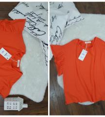 Zara * M/L * ruffles bluza NOVO
