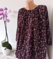 Cvetna bordo bluza vel XL