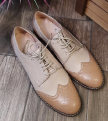 Kožne cipele (placene 8000), NOVE