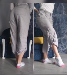 Letnje 3/4 sive pantalone