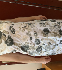 Pamucna haljina cvetna