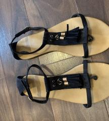 Crne sandale, H&M, kao nove