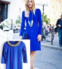 Kraljevsko plava haljinica