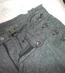MANGO poslovne pantalone 36