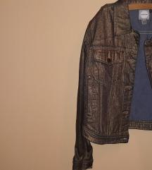 Zlatna teksas jakna