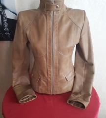 Mona camel kozna jakna S