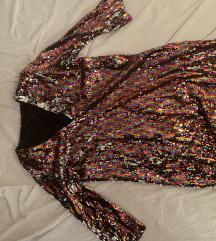 Disko zara haljina