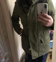 Parka H&M jakna sa krznom postavljena