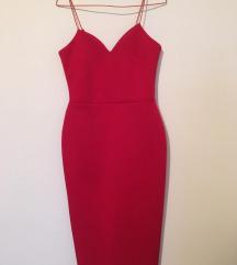 Crvena haljina S
