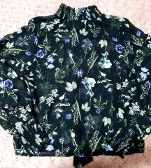 Cvetna crna kosuljica