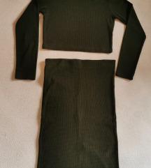 Komplet rolka i suknja