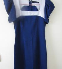 Plavo-bela haljina NOVO