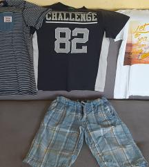 Paket1 za decaka 6-8god majice,bermude