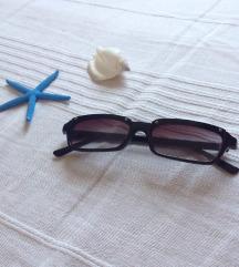 Crne retro vintage naočare