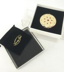 MAJESTIC GOLD - Luksuzno kompaktno ogledalo NOVO