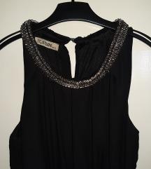 Crna elegantna haljina-SNIŽENjE 700