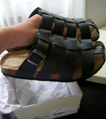 Muske crne papuce NOVO
