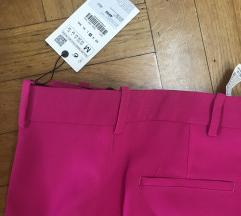 NOVO Zara pink pantalone