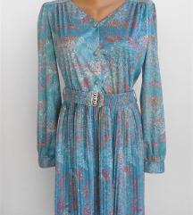 poslovna plisirana haljina vel L
