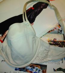 H&M bež-prljavo beli brushalter; 75C
