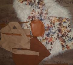 Zara pantalone cvetne jesenje 26