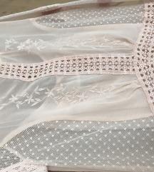 TOPSHOP mini haljina, sa roze slipom
