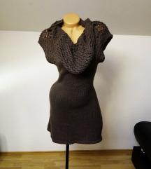 Italijanska braon haljina *uni