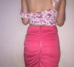 Suknjica i top krop majica
