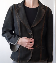 Teksas sako (jaknica), kao nov, crne boje