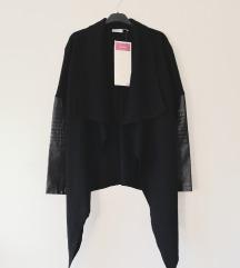 SHEINSIDE wool&faux leather NOVO
