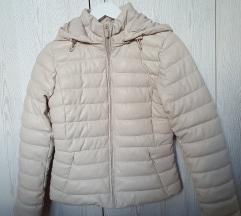 Zarina nova krem jakna od veštačke kože