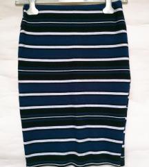 ZARA uska trikotažna suknja