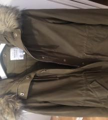 Zara jakna/ parka sa prslukom koji se skida