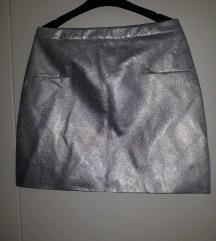 RESERVED holo suknja