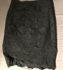 Suknja cipkana