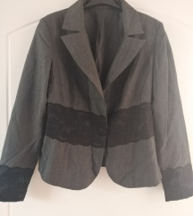 Nov sivo crni sako