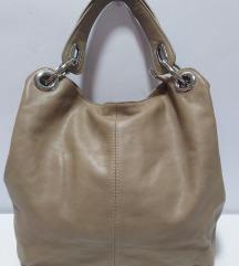 ITALY velika kožna torba 100%prirodna koža