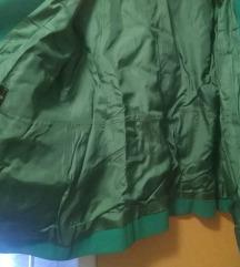 Vintage zeleni kaputić