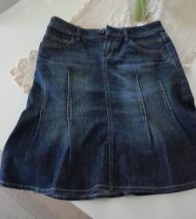 ESPRIT teksas suknja