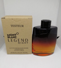 MONT BLANC Legend night, tester