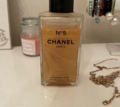 Chanel No5 sparkling body gel