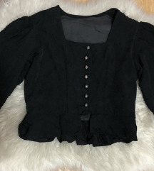 SNIZENJE stradivarius puff top