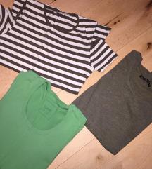 3 majice za 1200